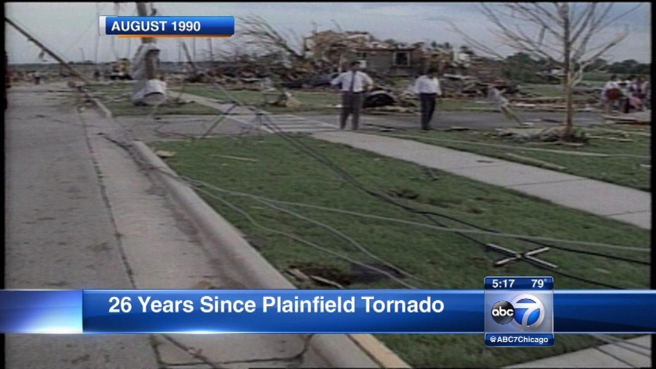 Sunday marks 26-year anniversary of deadly Plainfield tornado