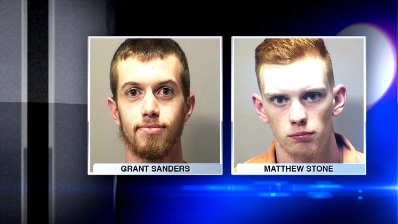 Porter men fired hundreds of shots toward neighbor's home, police say