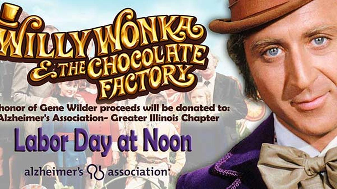 Woodridge movie theater to screen 'Willy Wonka' to benefit charity after Gene Wilder death