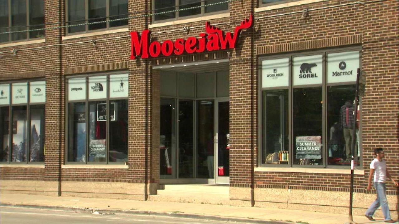 Moosejaw store in the 1900-block of North Clybourn.
