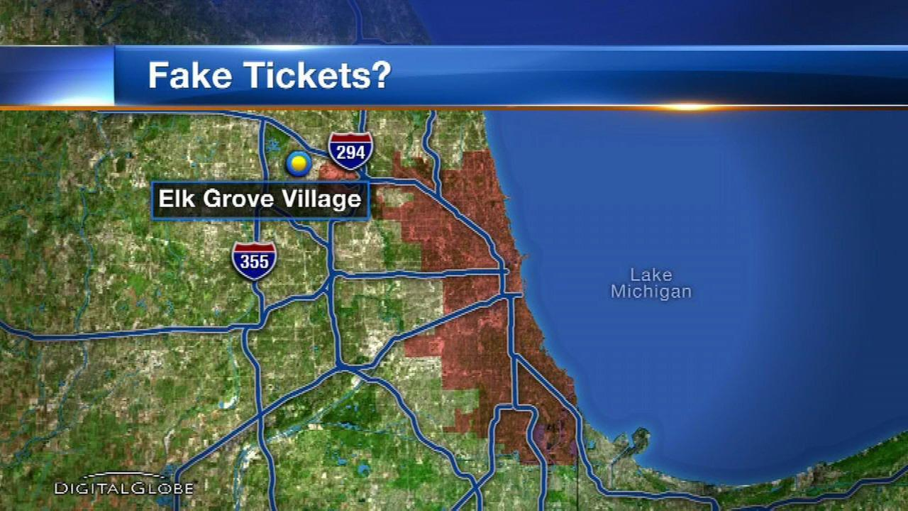 Elk Grove Village officer accused of writing fake tickets steps down
