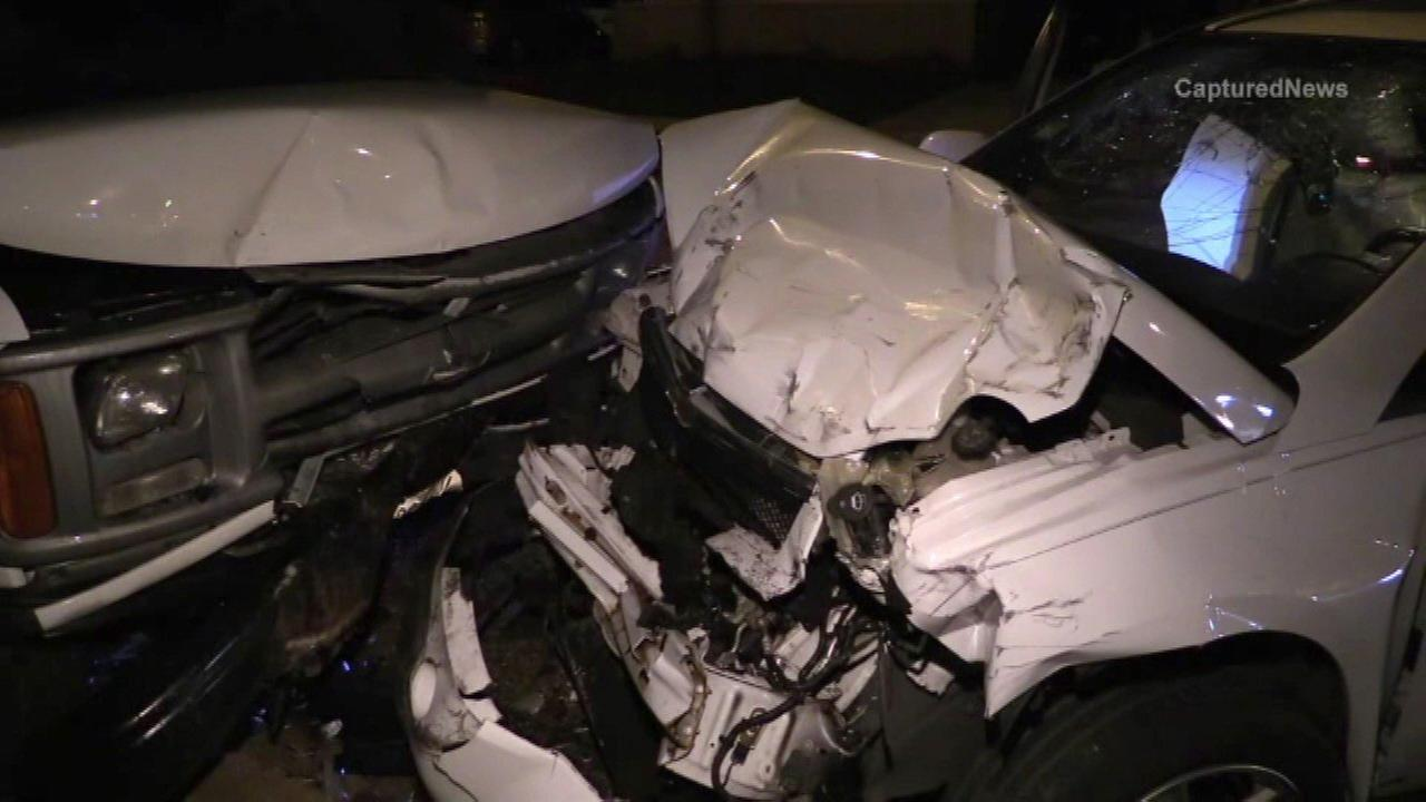 3 men try to run after stolen car crashes in Ashburn, police say