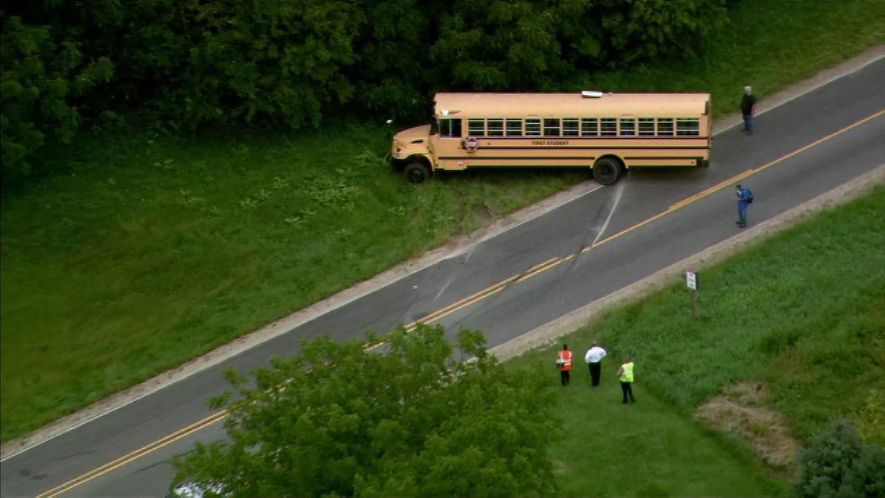 Students injured in Belvidere school bus crash