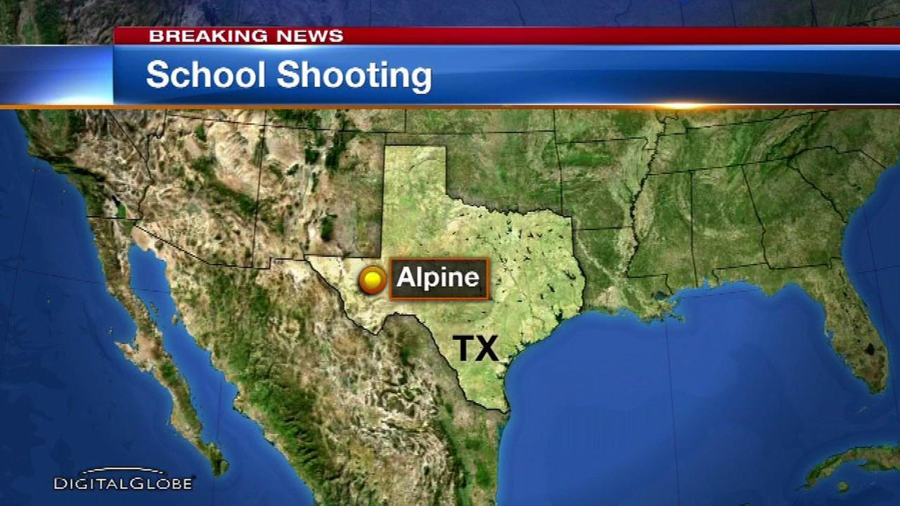 1 student dead, 1 wounded in Texas school shooting, sheriff says