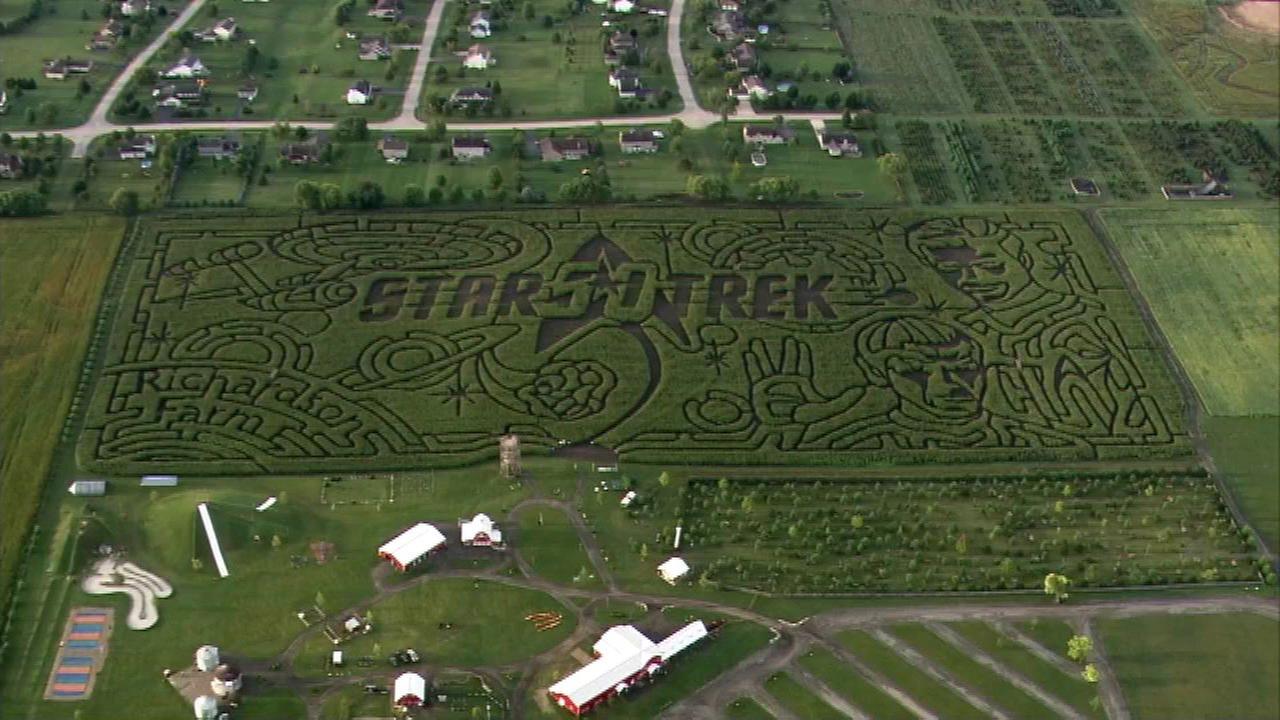 Spring Grove corn maze celebrates Star Trek 50th anniversary