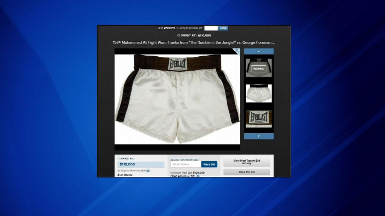 Muhammad Ali auction