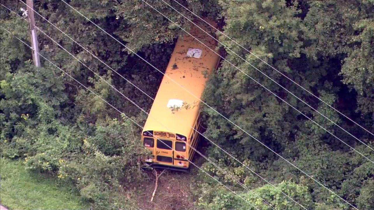 School bus crashes in Homer Glen