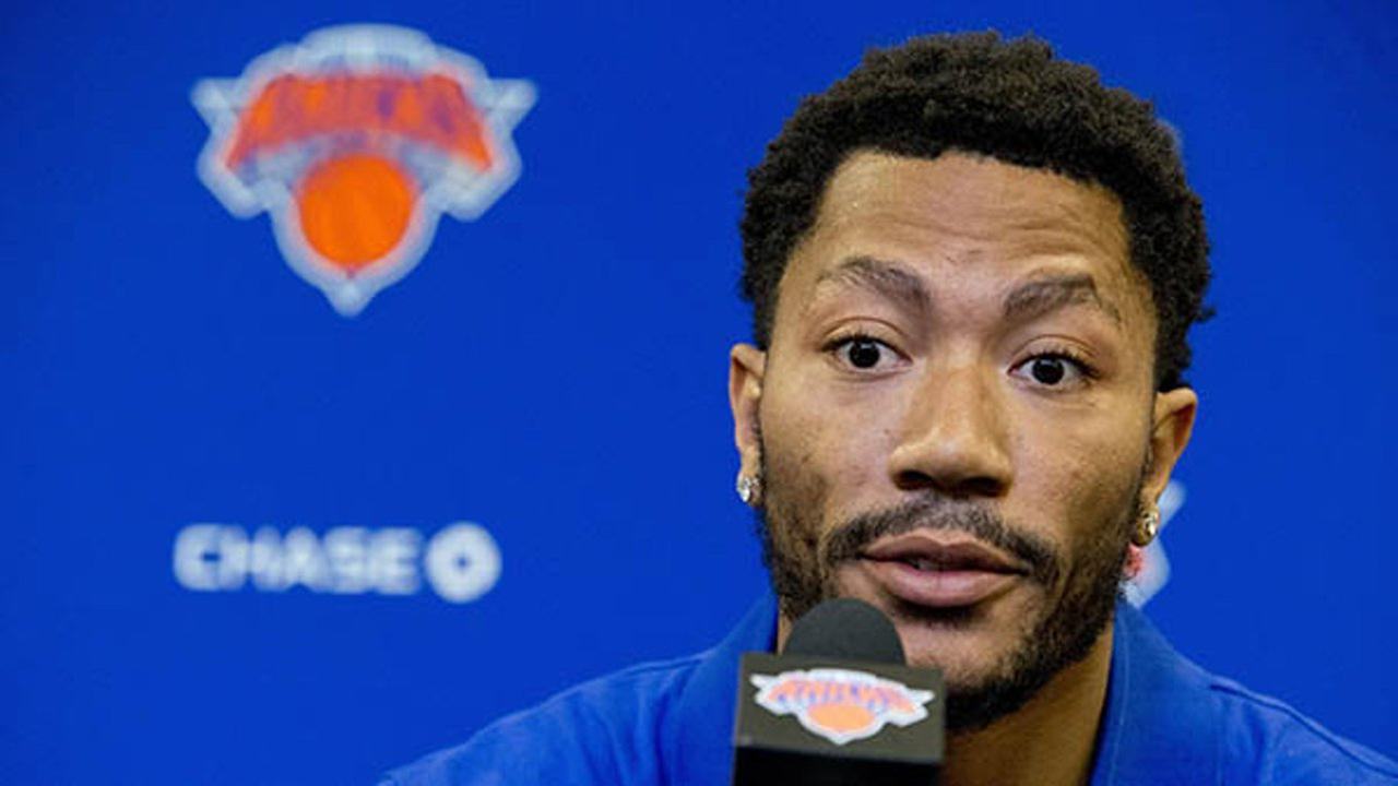 Knicks' Derrick Rose on rape case: 'I didn't do anything wrong'