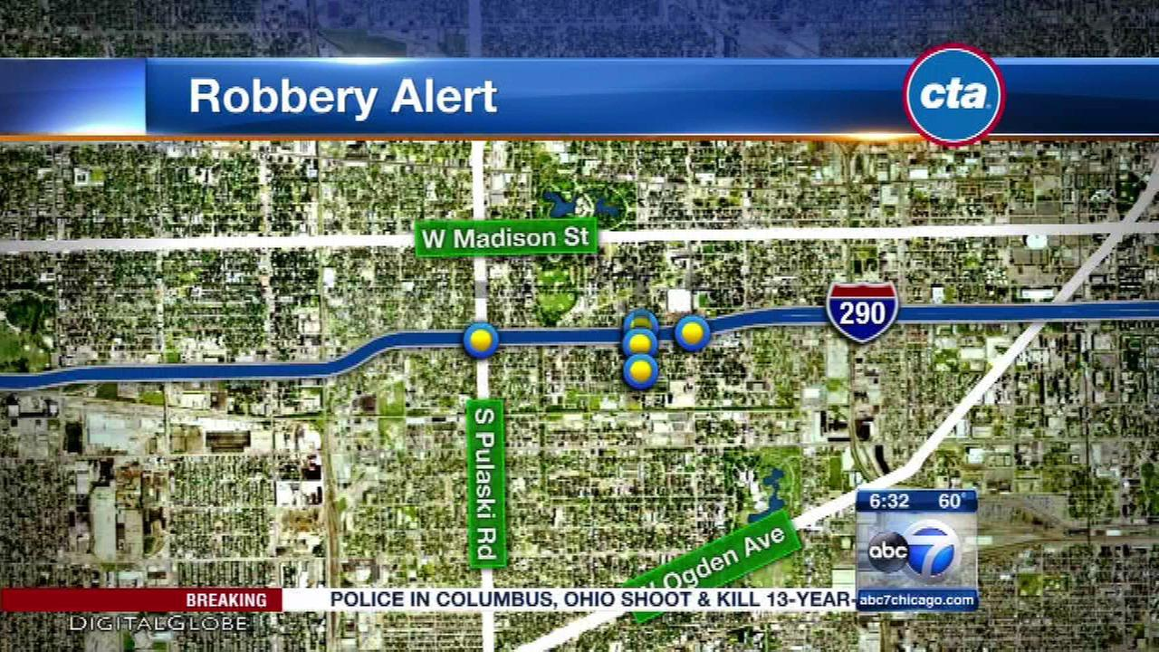 Group of teen robbers attack CTA Blue Line riders on West Side, police say