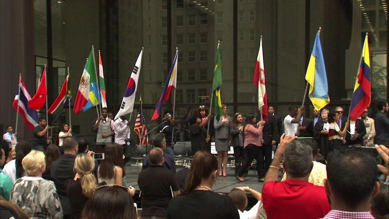 Chicago celebrates U.S. Constitution and Citizenship Day