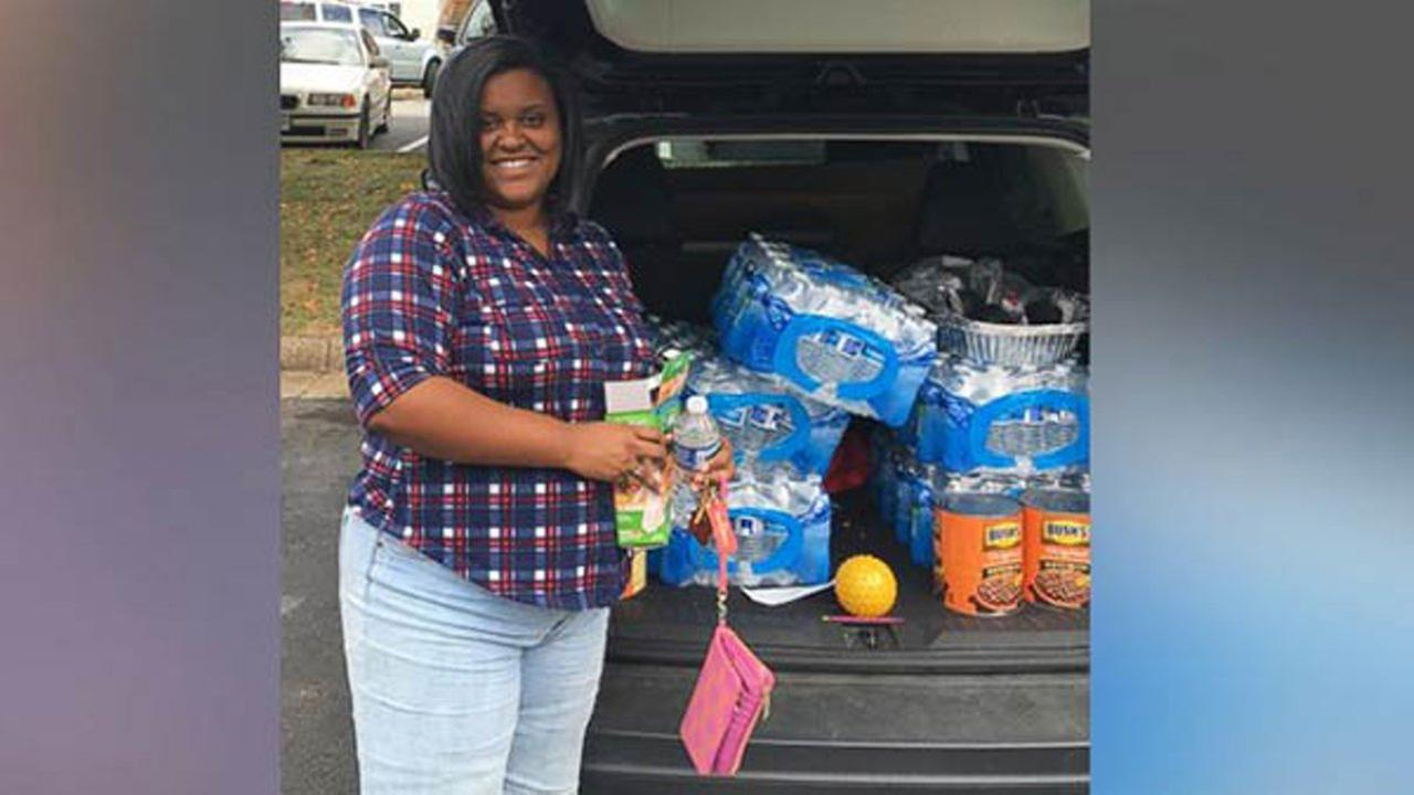 A young woman is setting out to deliver 30,000 meals to the hungry and homeless before her 30th birthday next year - and she wants to do it all with coupons. Lauren Puryear/ABC News