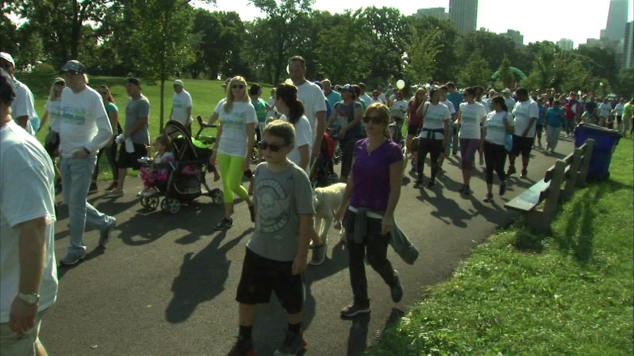 The 10th annual Hike for Lung Health took place Sunday in Chicagos Lincoln Park neighborhood.