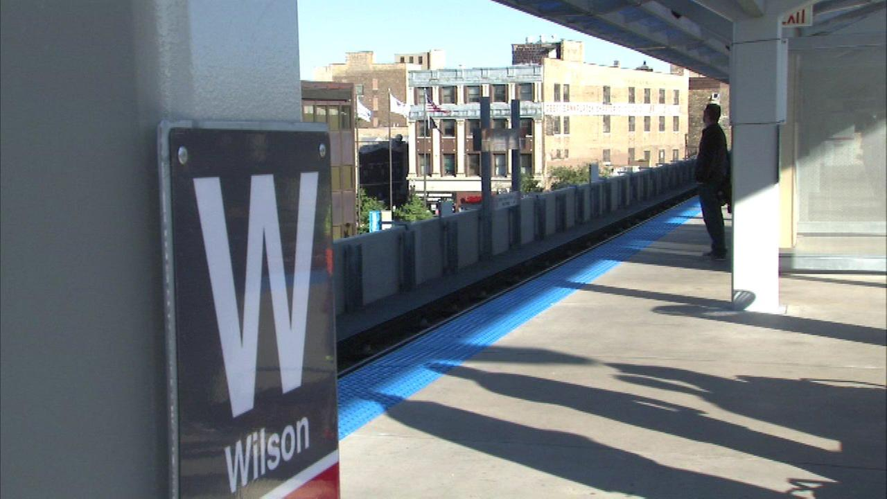 Wilson Red Line station on final phase of renovation