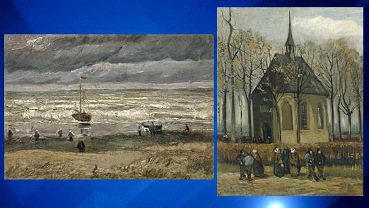 Stolen Van Gogh paintings found in Italy, 14 years later