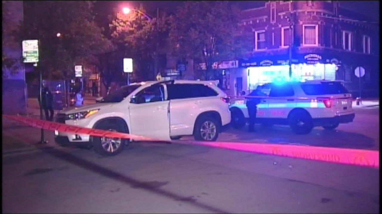 Police investigate a fatal shooting in the Back of the Yards neighborhood.