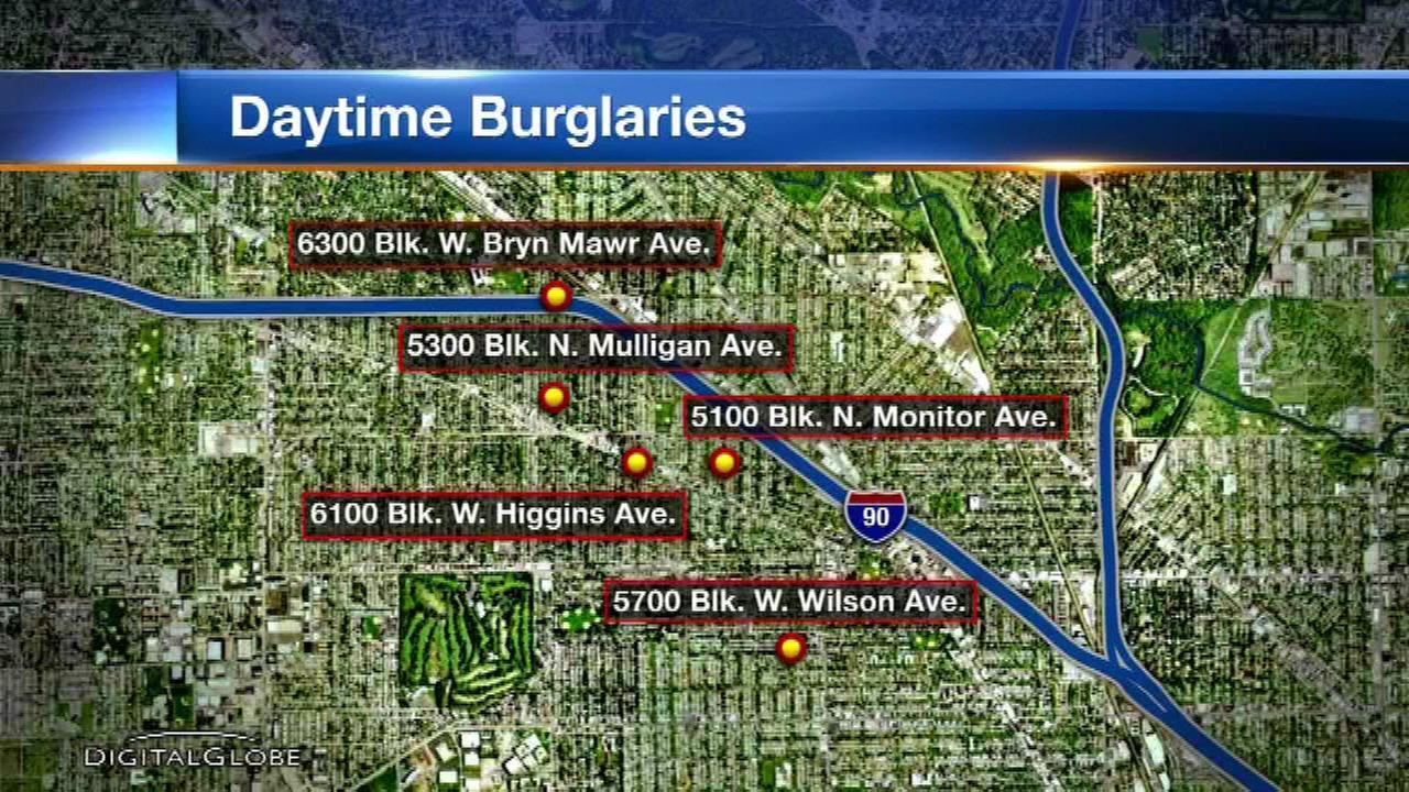 Chicago police issue alert after home burglaries in Jefferson Park