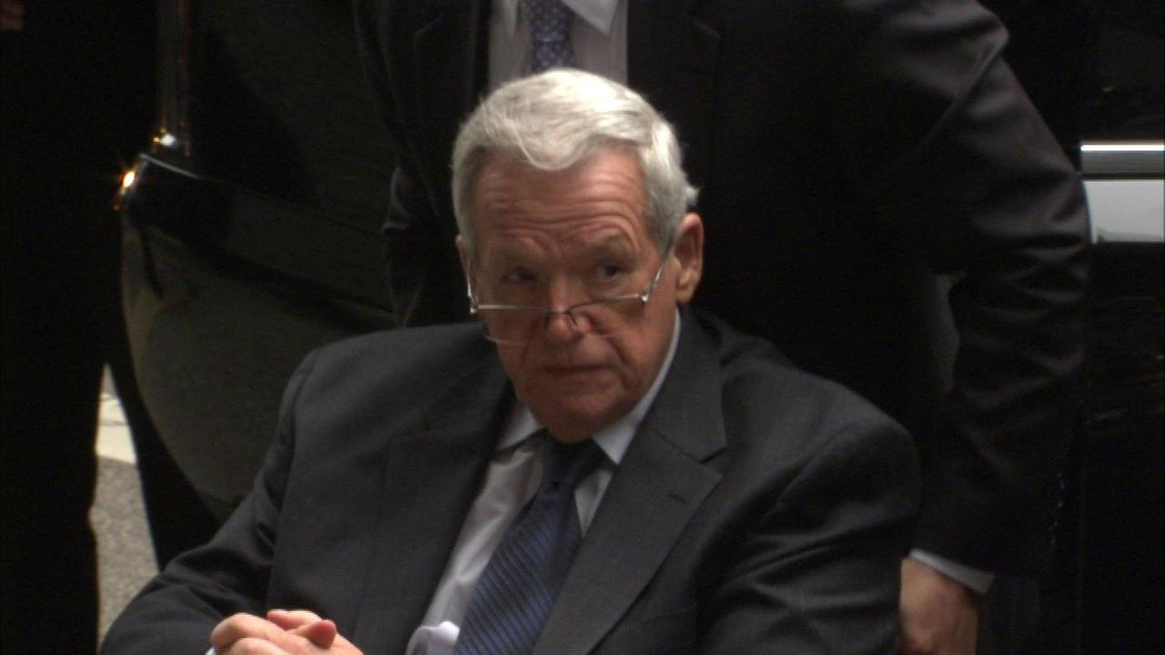 Former Speaker Hastert barred from contact with minors