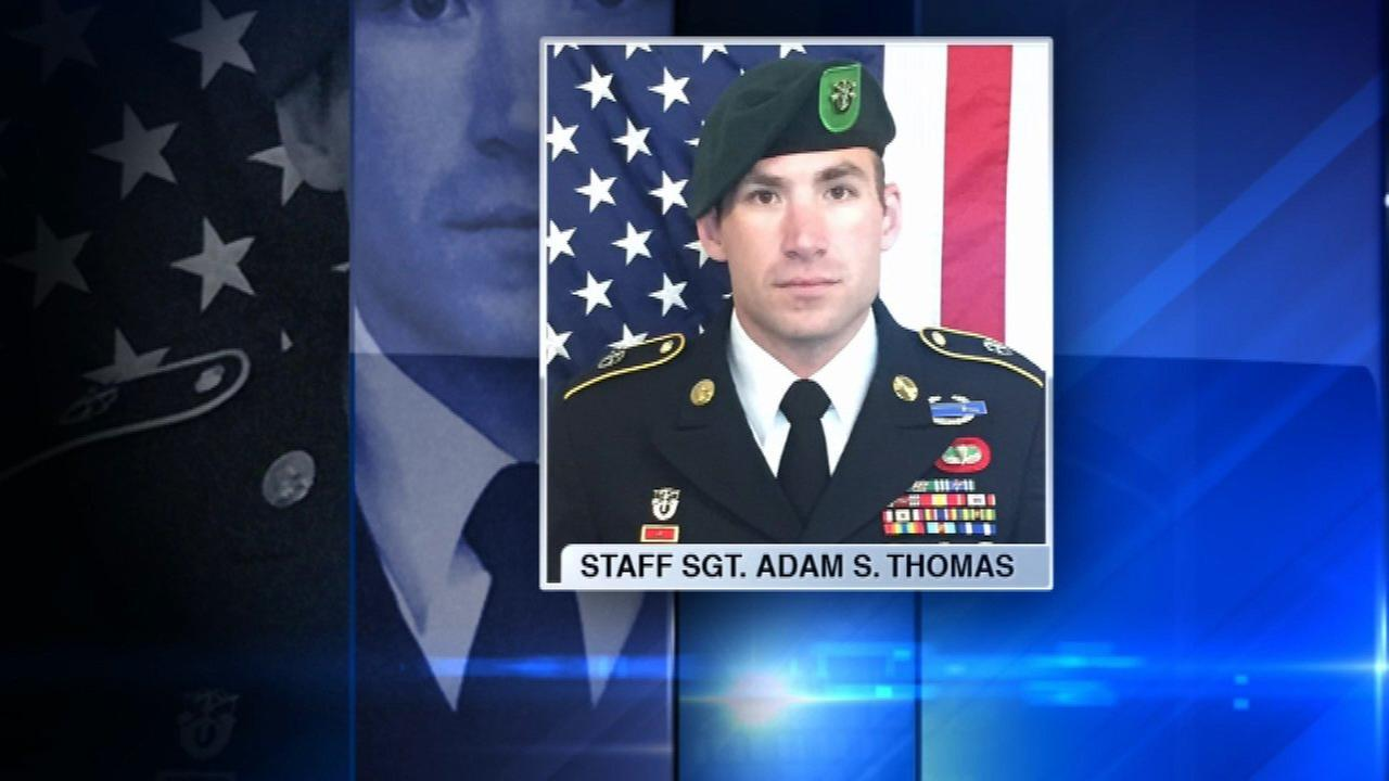 Green Beret from Elgin killed in Afghanistan honored at former high school