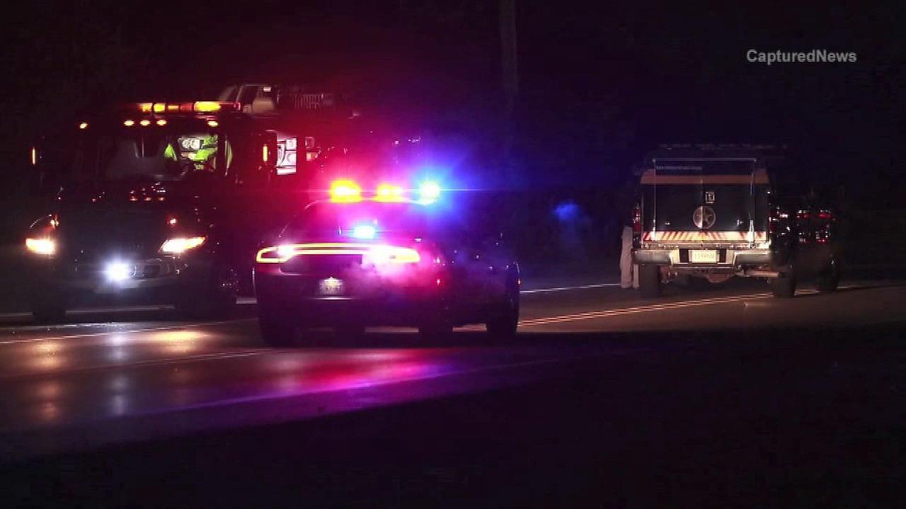 Police investigate after a woman was fatally struck by an SUV in unincorporated Ingleside.