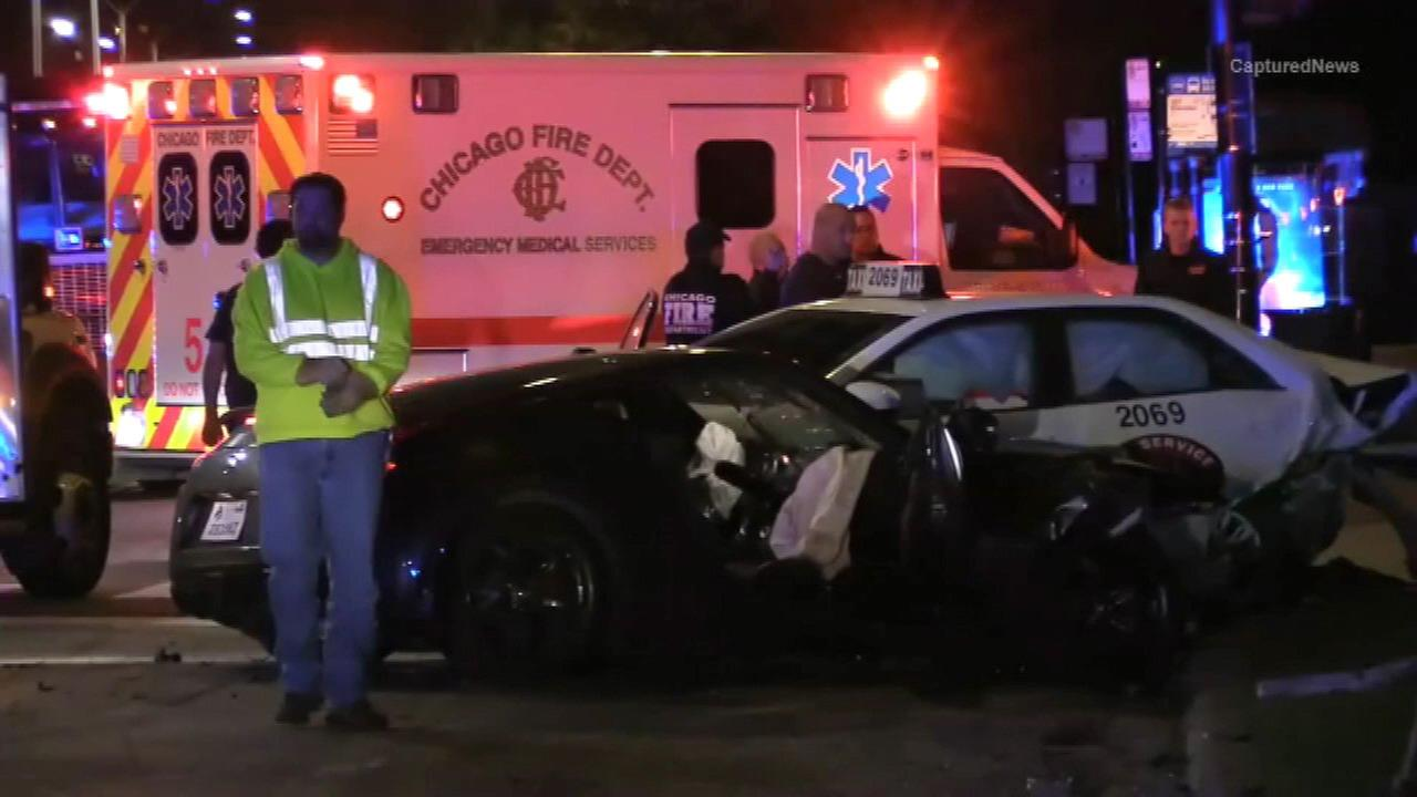 4 hurt in Gold Coast crash involving taxi
