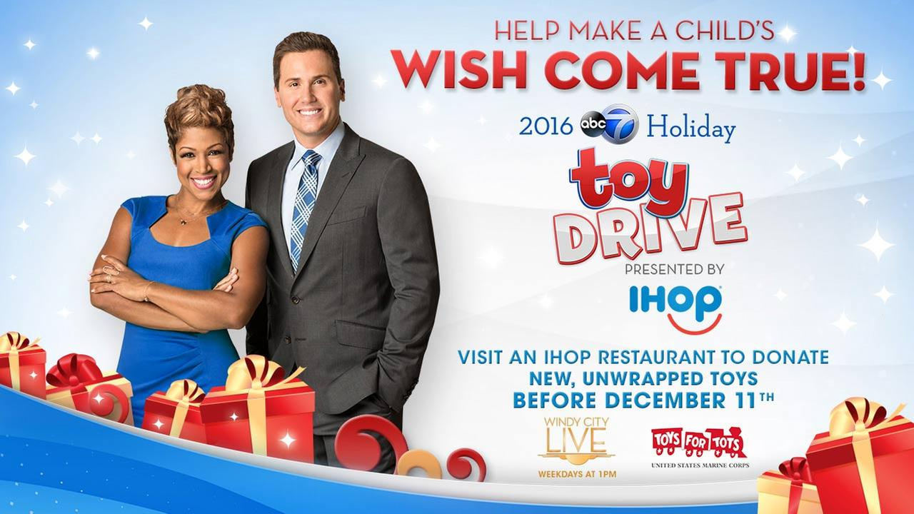 2016 ABC 7 Chicago Holiday Toy Drive presented by IHOP