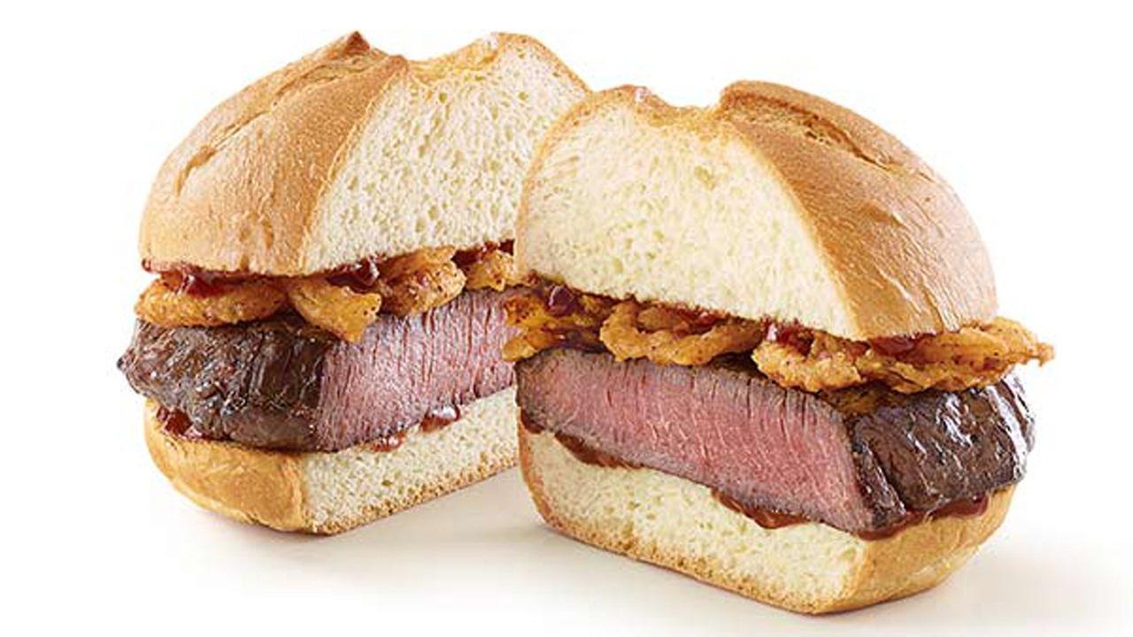 Arbys venison sandwich