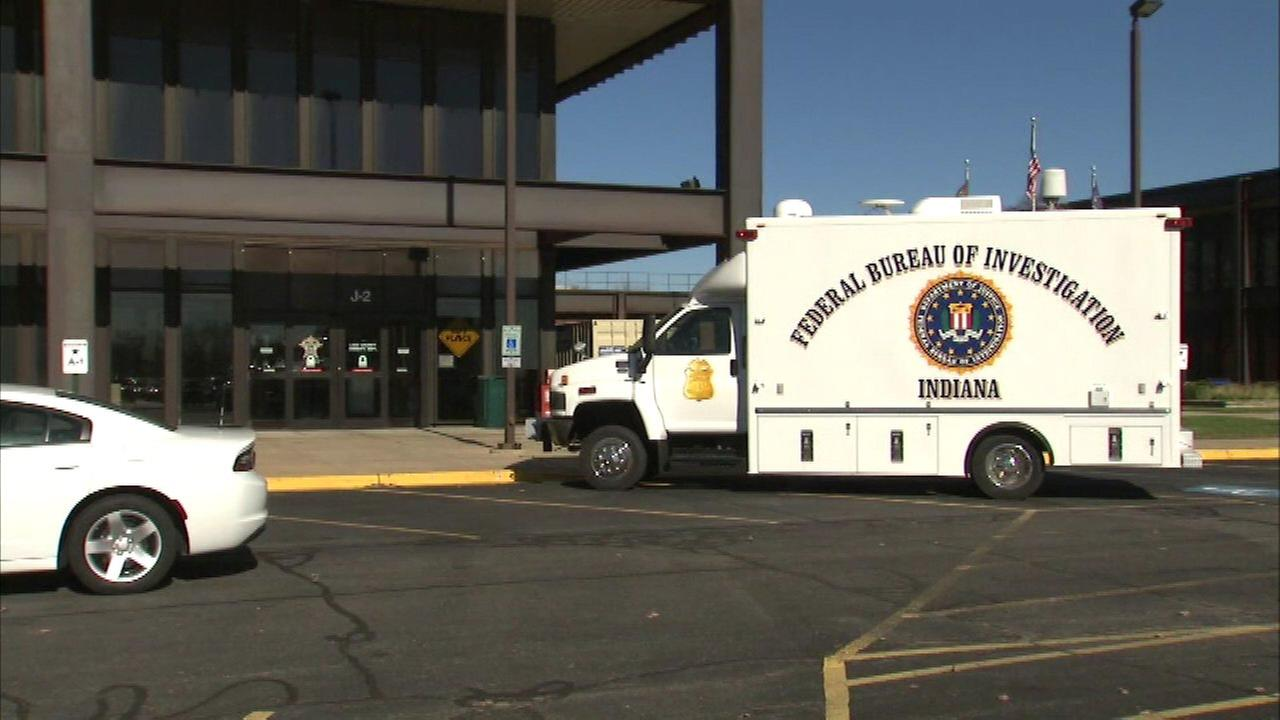 The FBI and Indiana State Police raided the Lake County Sheriffs office in Crown Point Thursday morning.