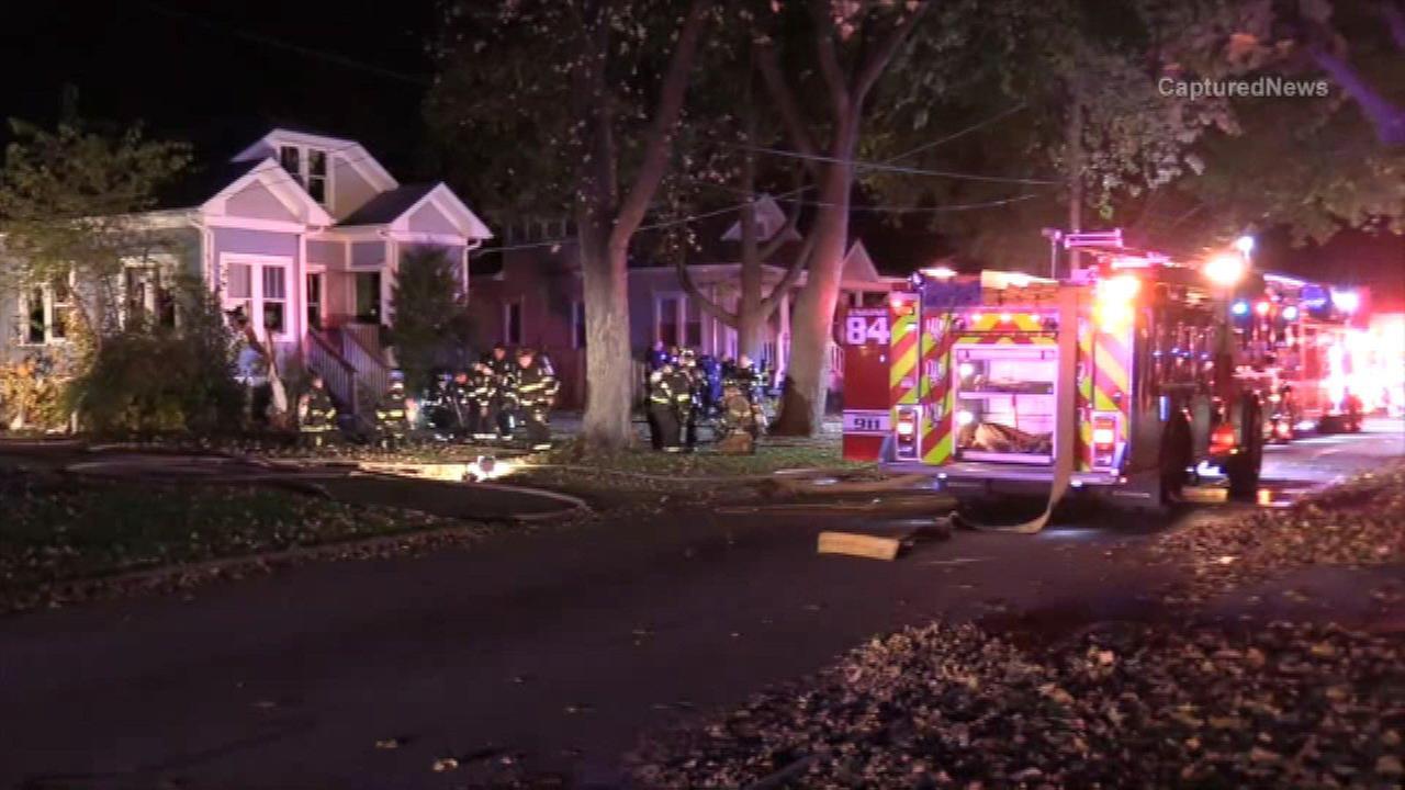 Elderly woman dies in Palatine house fire