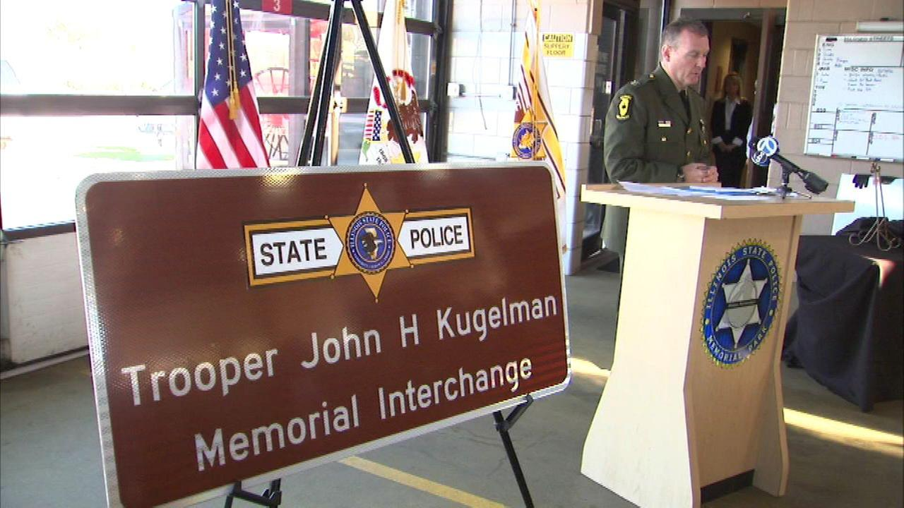 Interchange named after IL state trooper