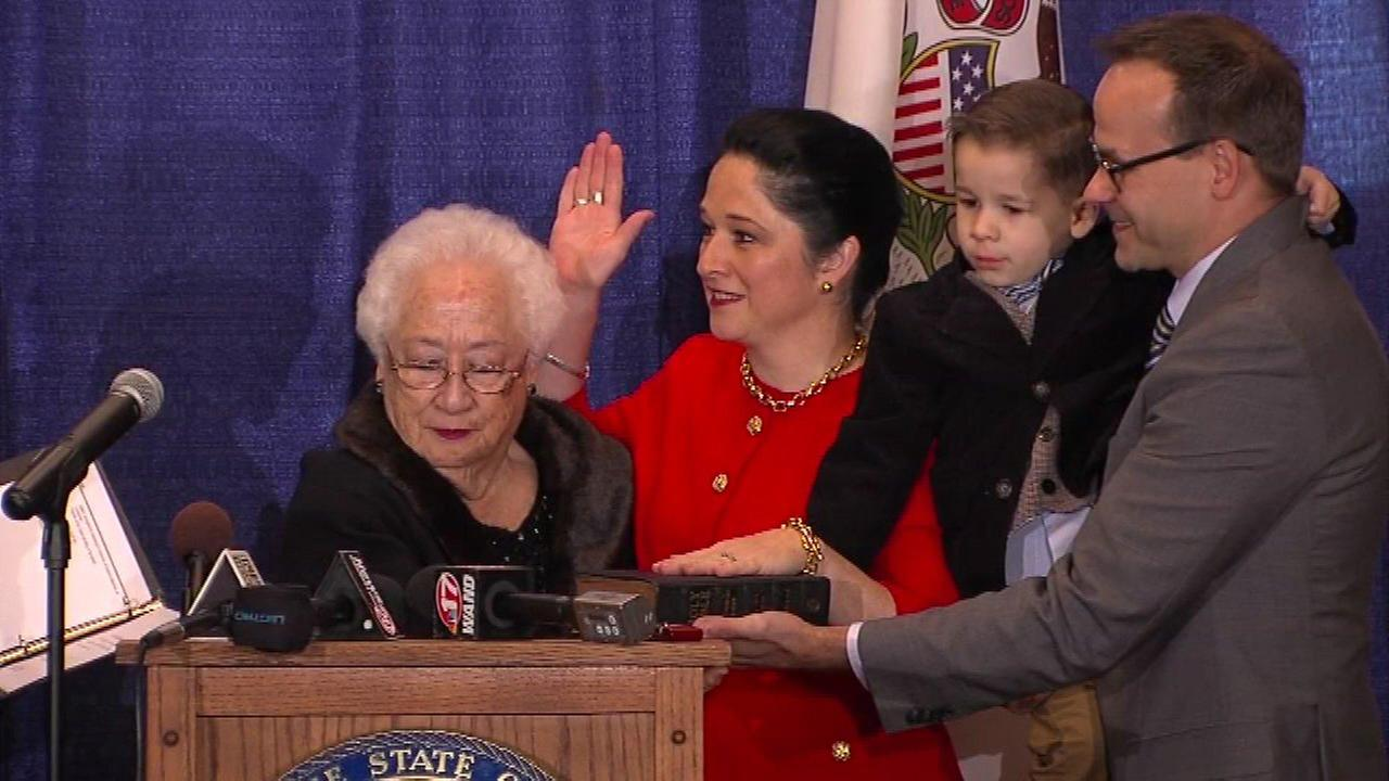 Susana Mendoza is officially the states new comptroller.