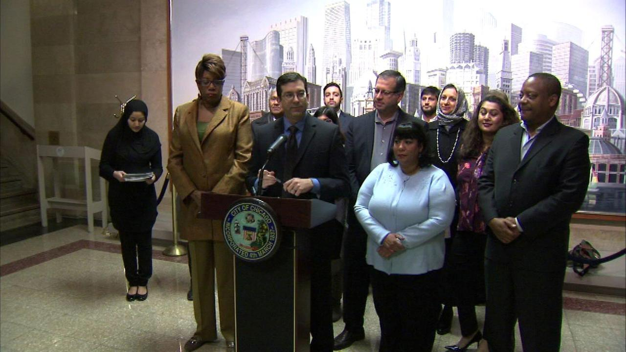 Aldermen renew call to add Chicago to a national campaign against Islamophobia