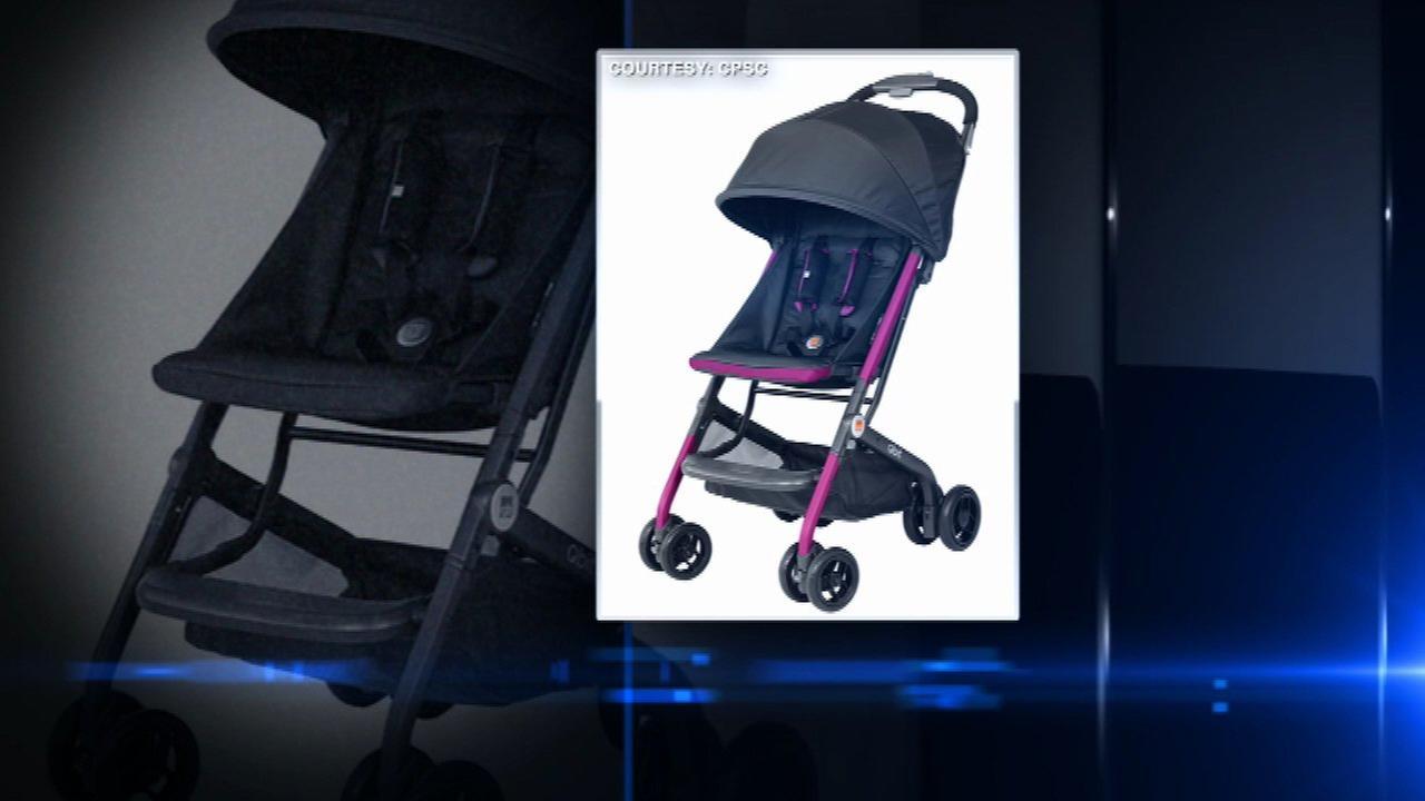 Aria Child Voluntarily Recalls Certain gb Qbit Strollers