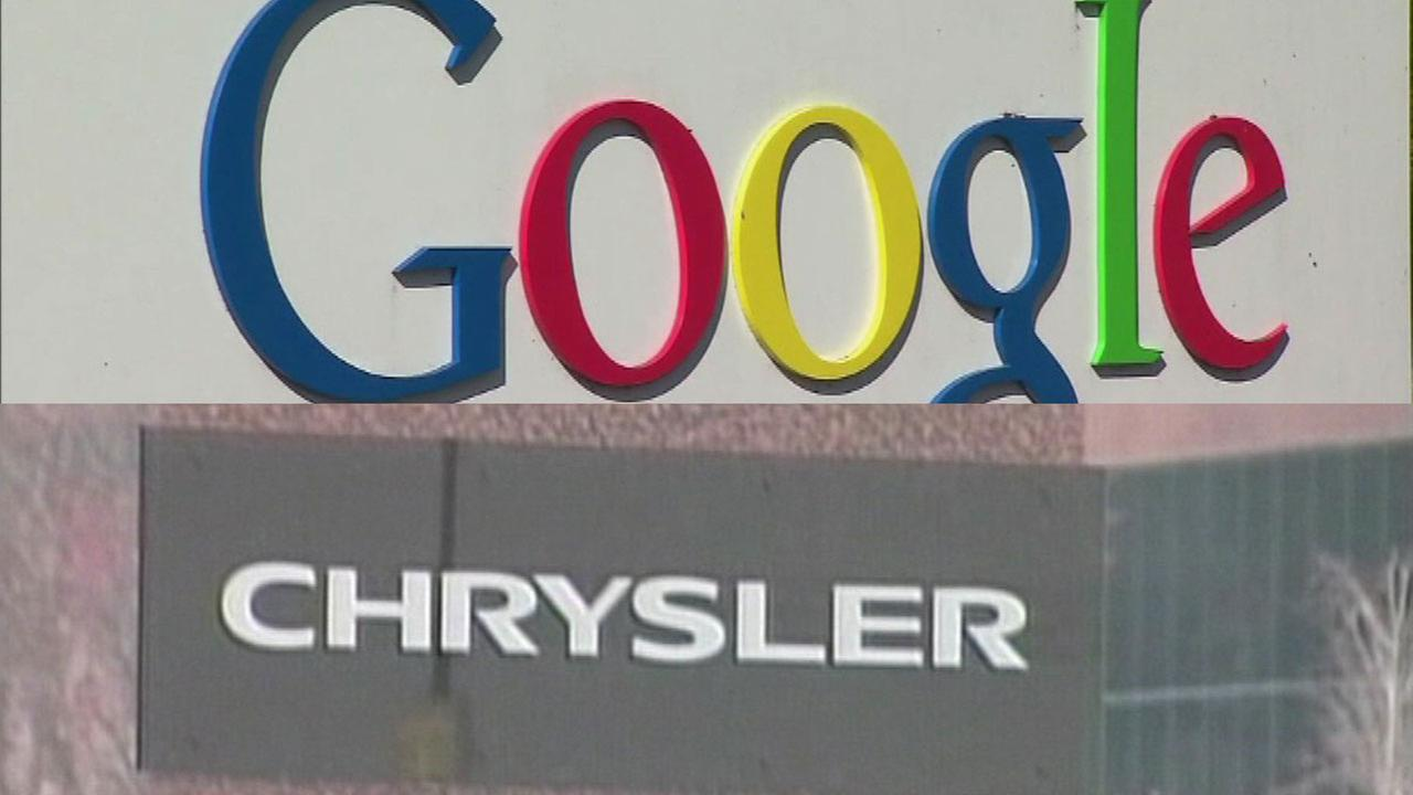 Google, Fiat Chrysler team up for in-car technology