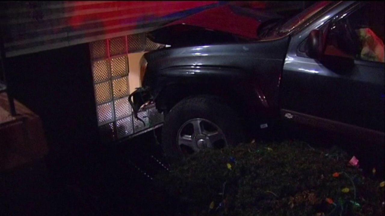 SUV crashes into child's bedroom window in Evanston