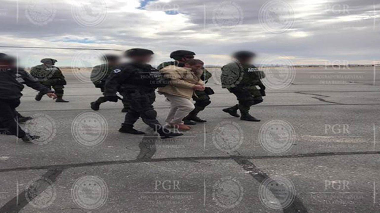 Joaquin El Chapo Guzmans extradition from Mexico.Attorney General of Mexico