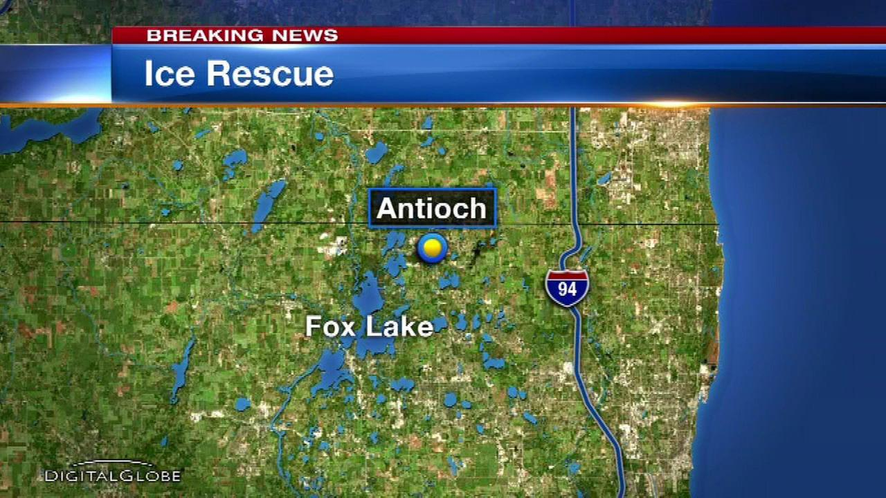 2 men rescued from Antioch lake