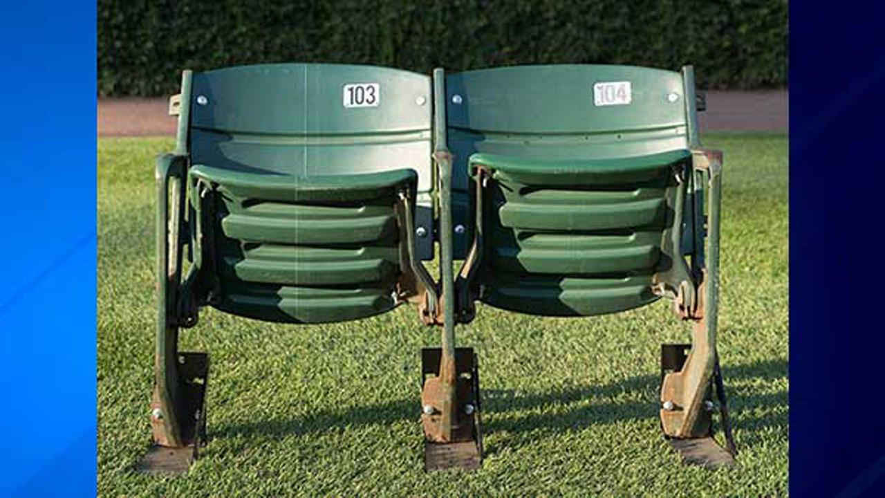 The Chicago Cubs are selling limited quantities of Wrigley Field seat sets that have been removed and replaced over the last two years.