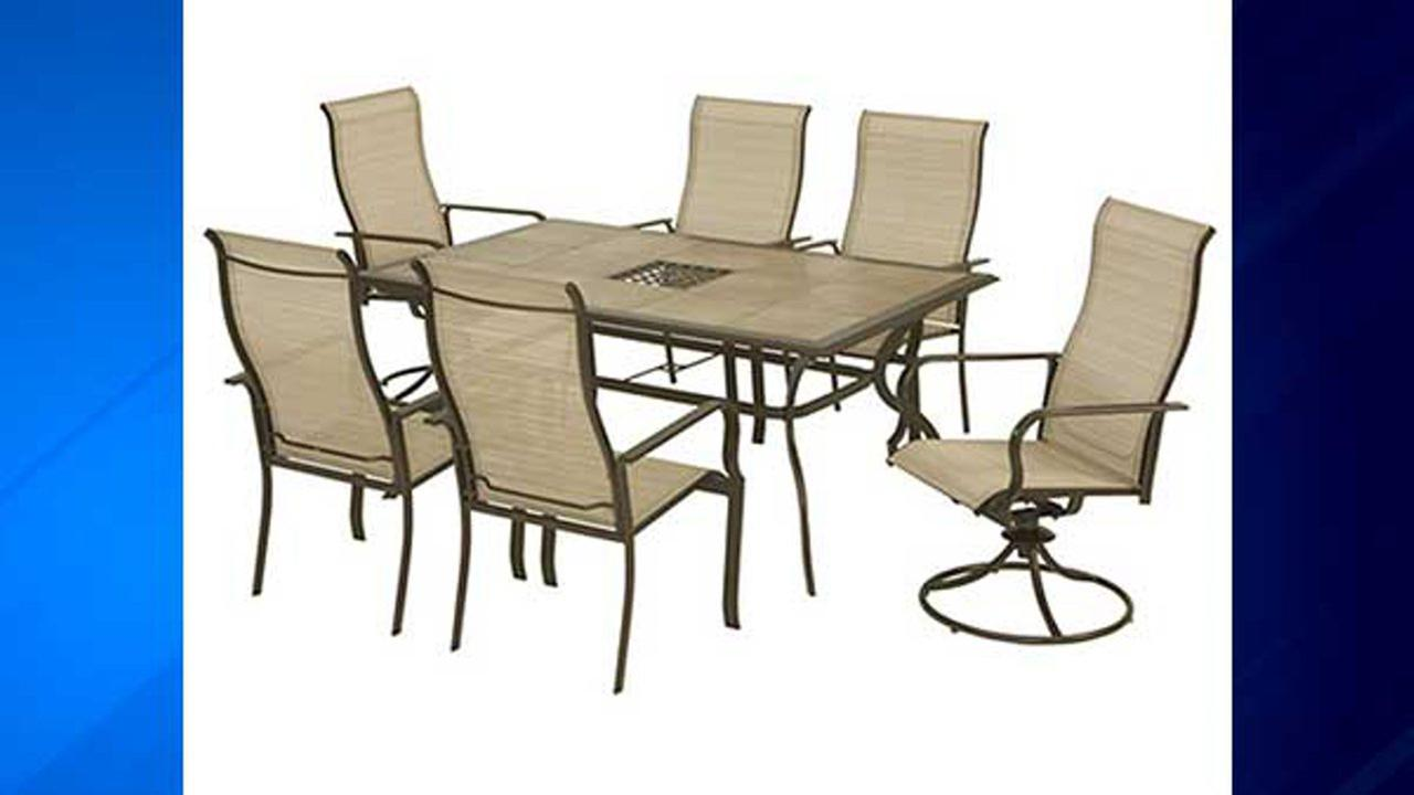Patio chairs manufactured by Casual Living Worldwide.