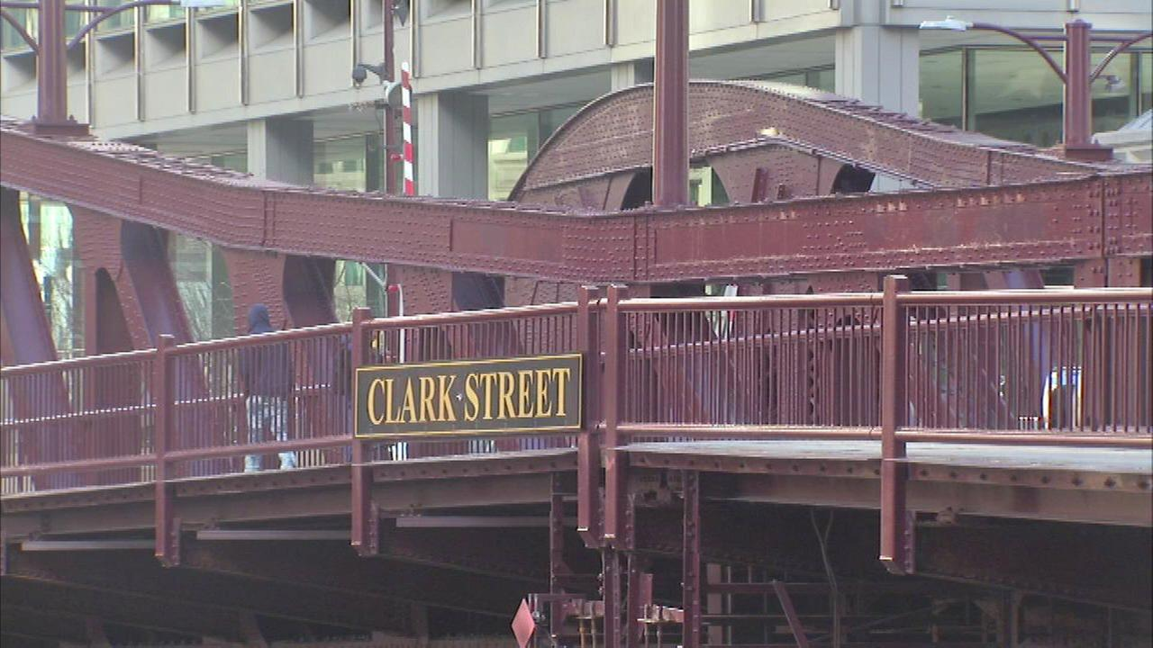 Work begins on Clark Street Bridge Monday, lane closures to go in effect