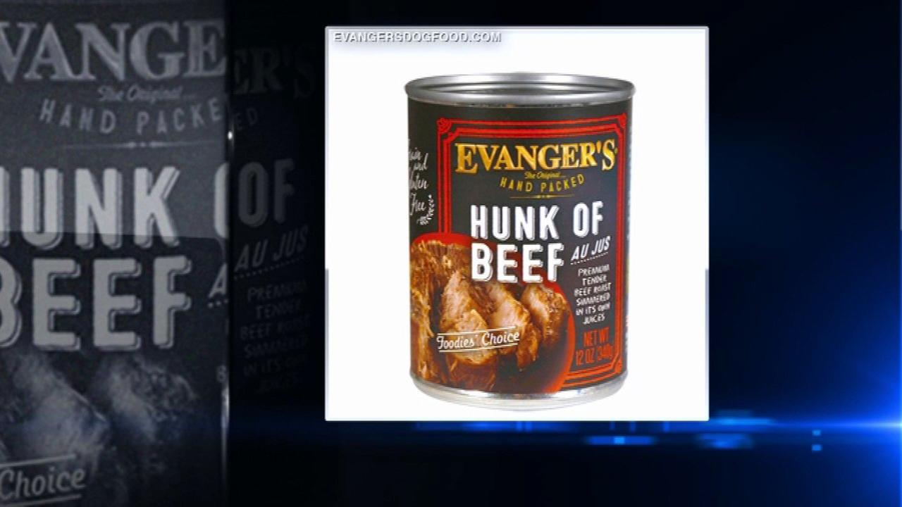 Evanger's recalls dog food due to contamination