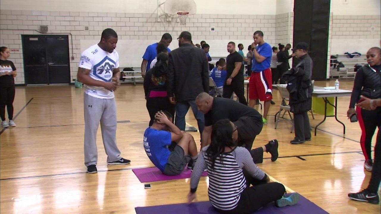 Chicago police department holds P.O.W.E.R. test for new recruits