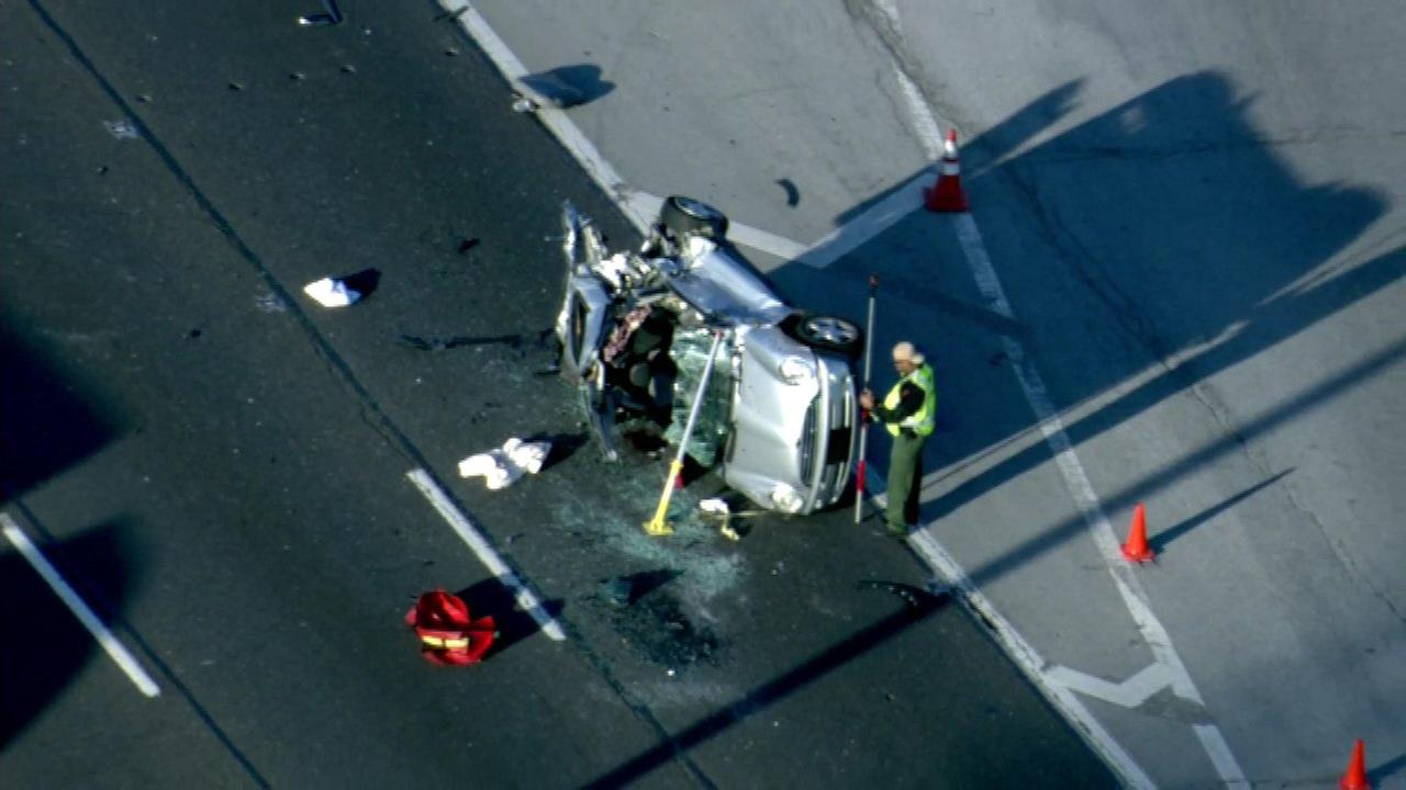 Northbound lanes of Bishop Ford reopen at 159th after crash