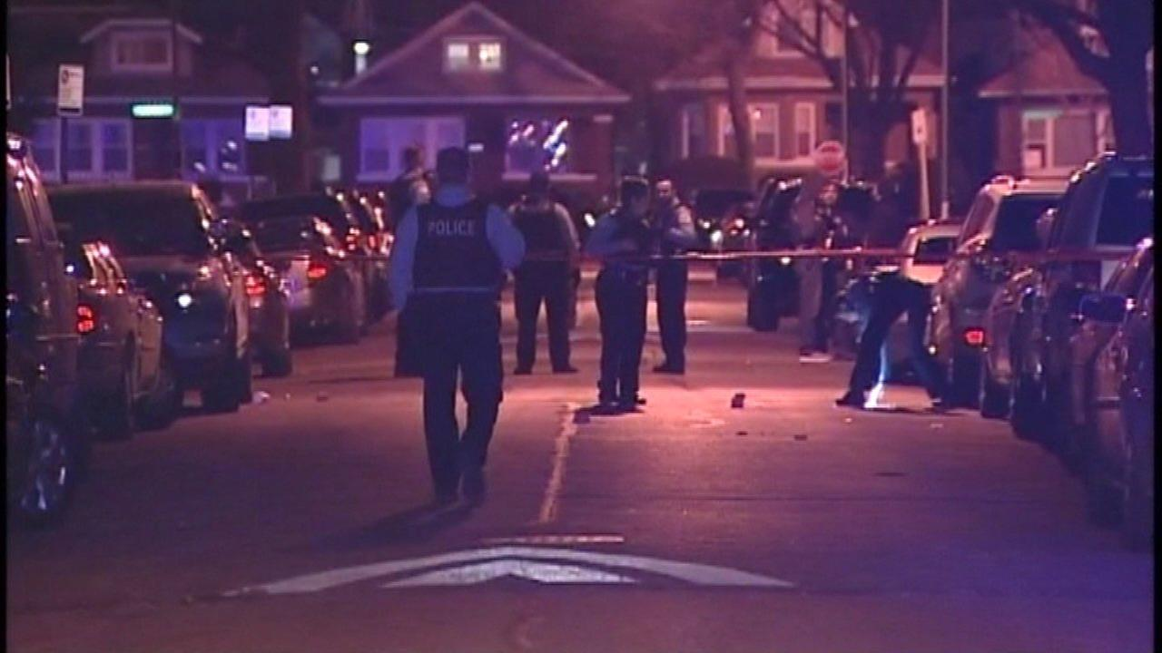 Two teens were shot late Friday night in the Austin neighborhood.