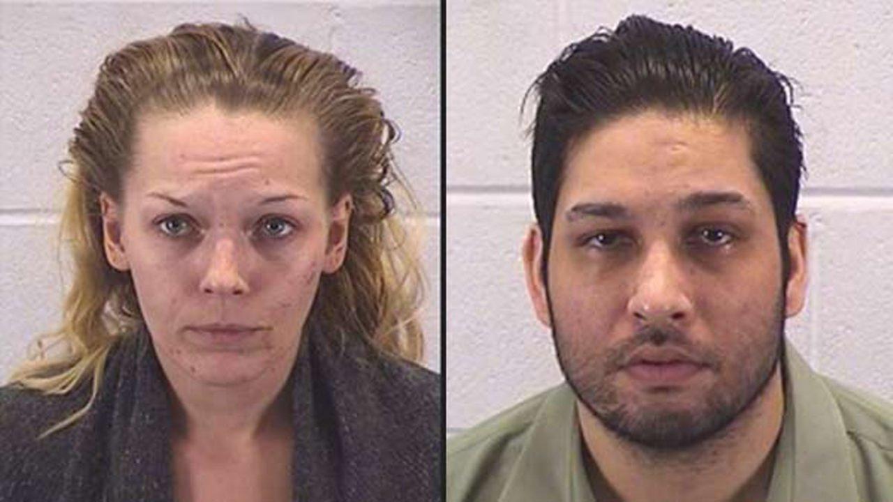 Nicole Barkes, 29 and Edwin Alequin, 37.