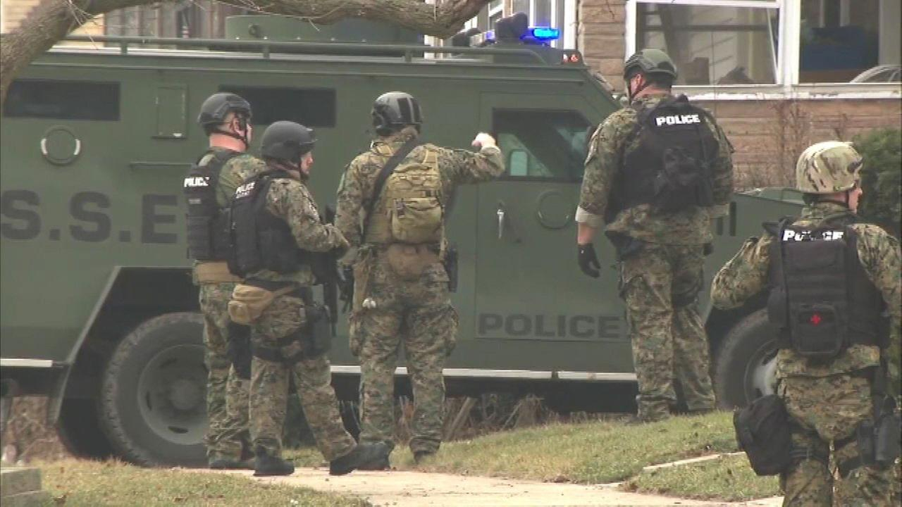 Blue Island Barricade Situation Ends In 7 Arrests