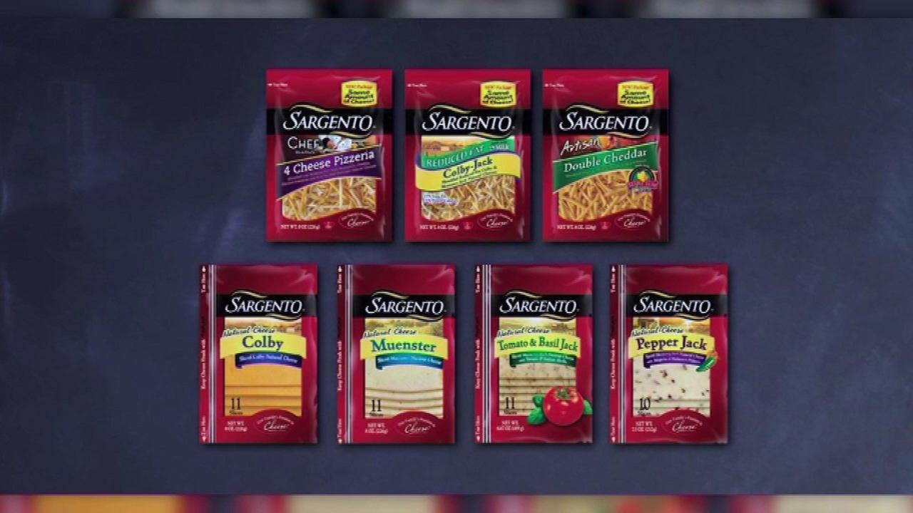 Cheesemaker Sargento expands listeria recall, cuts supplier