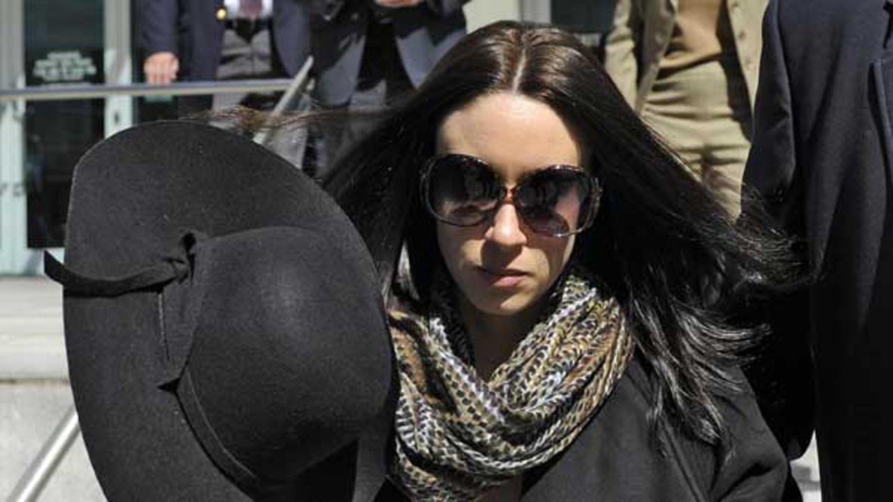 In this Monday, March 4, 2013 file photo, Casey Anthony leaves the federal courthouse in Tampa, Fla., after a bankruptcy hearing.