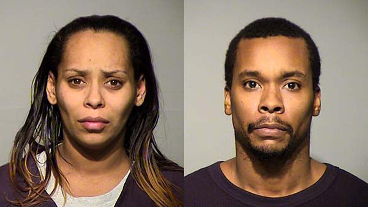 Margarita Balderas, 34 and Darrell Woodson, 35.