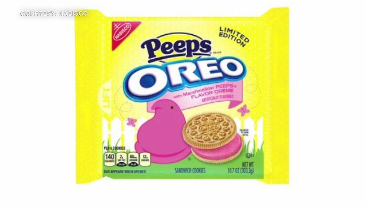 New Peeps-flavored Oreos reportedly turning people's poop pink