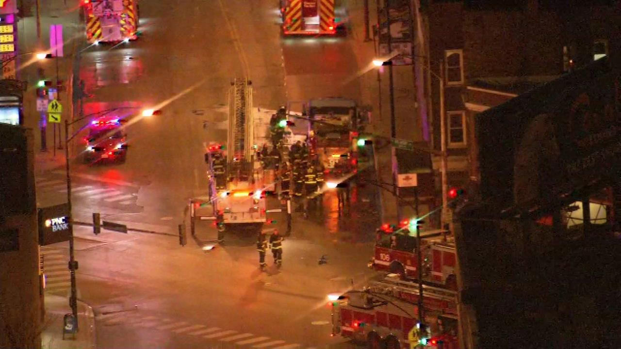 Man, 60, critically injured in Logan Square fire